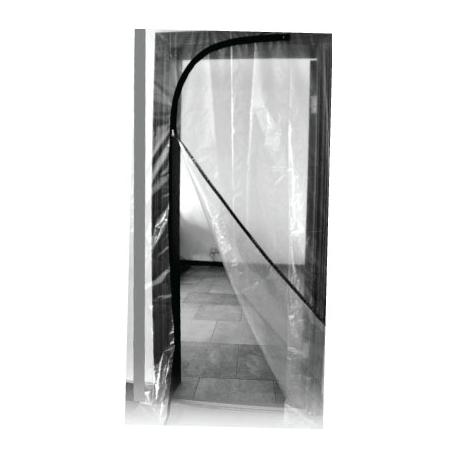180710- Zipper Door 220cm High x 112cm Wide