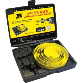 8Pcs Hole Saw Set - 8PC - BS539108