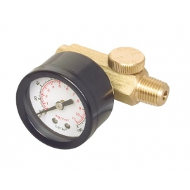 Air Regulator with 160 psi Gauge (14001)